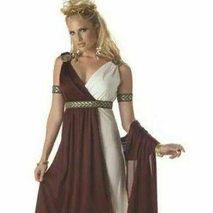 Roman Empress Greek Toga Size Large By California